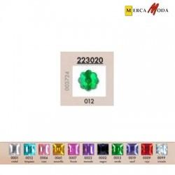 Piedra Acrilica Flor 12x12 mm