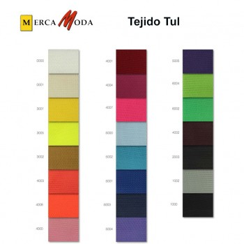 Tul Blanco Tieso ancho 150 cm.