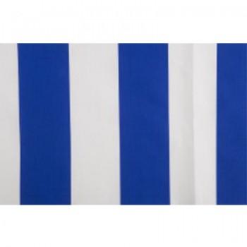 Tela de rayas Blanca y Azul