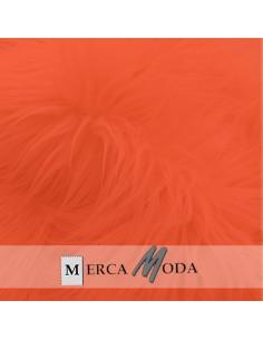Tela Pelo Largo Naranja |Comprar telas por metros - Telas Mercamoda