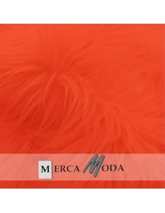 Tela Pelo Largo Rojo |Comprar telas por metros - Telas Mercamoda