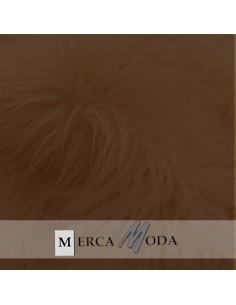 Tela Pelo Largo Marrón |Comprar telas por metros - Telas Mercamoda