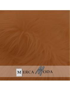 Tela Pelo Largo Camel Oscuro |Comprar telas por metros - Telas Mercamoda